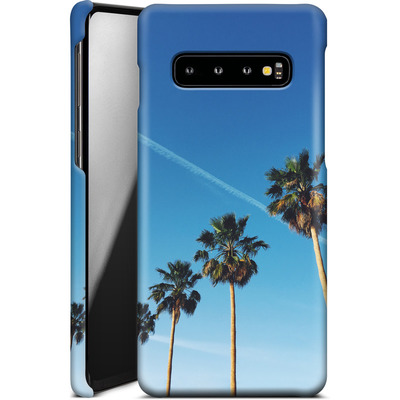 Samsung Galaxy S10 Smartphone Huelle - Palm Tree Paradise von Omid Scheybani