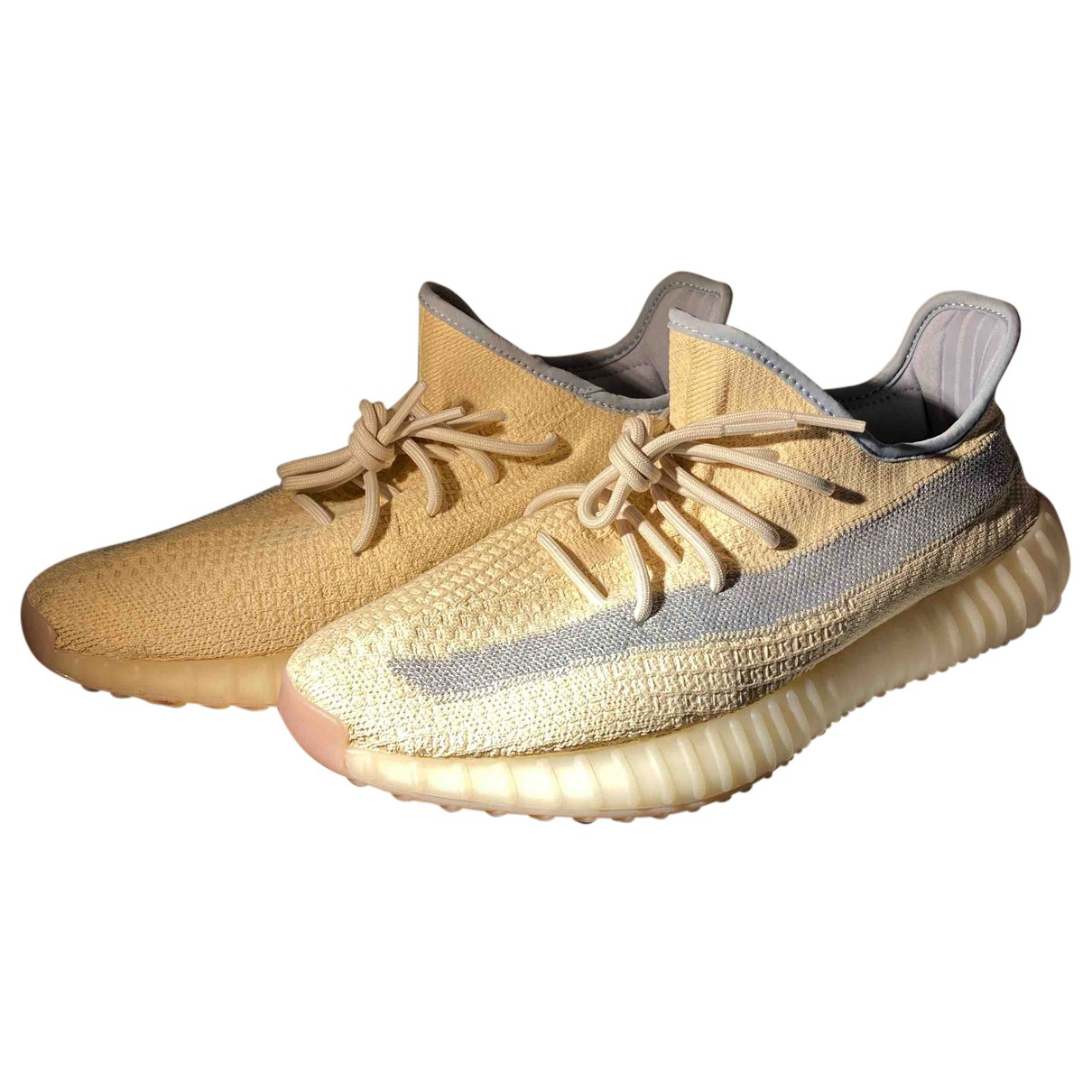 Yeezy X Adidas Boost 350 V2 Yellow Cloth Trainers for Men 46.5 EU