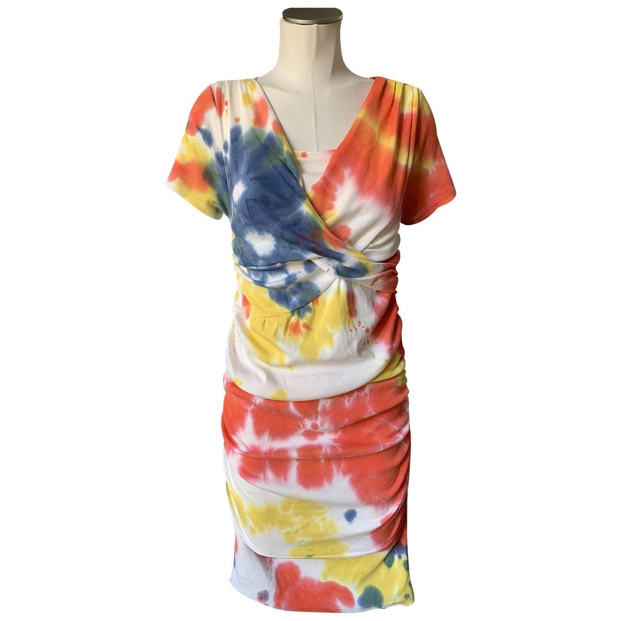 Jour/né \N Multicolour Cotton - elasthane dress for Women 36 FR