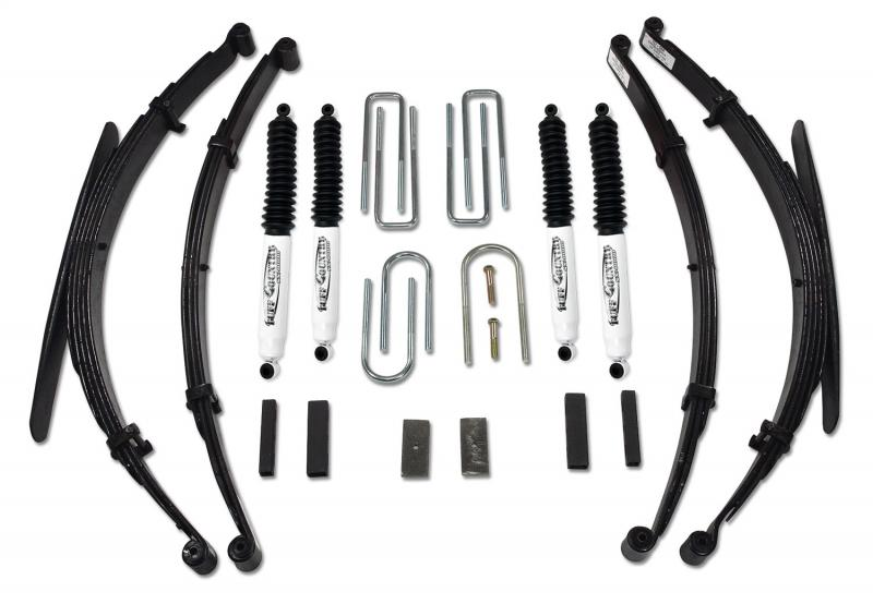 Tuff Country 36720KN Complete Kit (w/SX8000 Shocks)-6in. Dodge Ramcharger 1975-1977