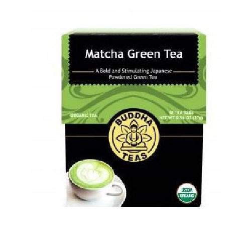 Orgainc Matcha Green Tea 18 Bags by Buddha Teas