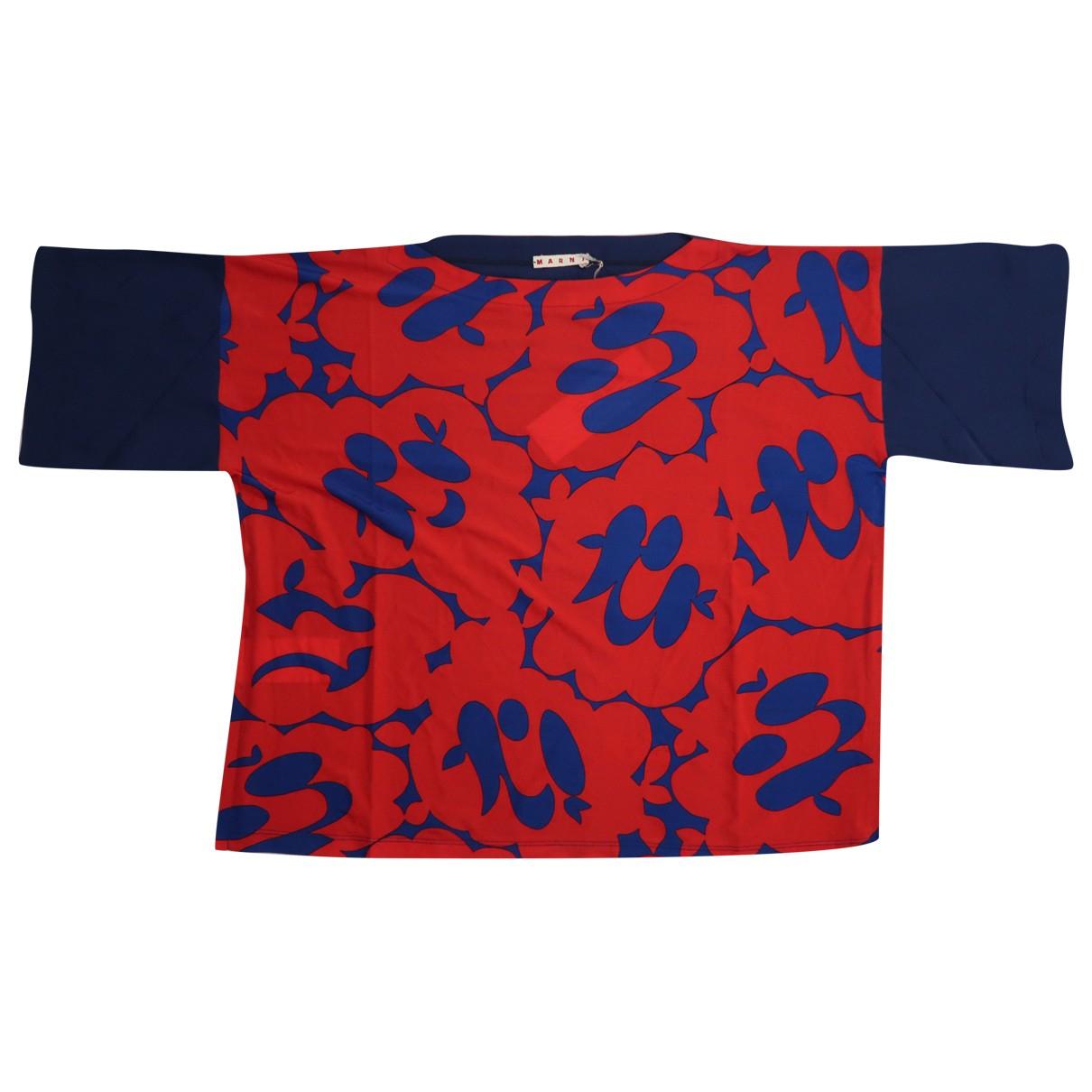 Marni - Top   pour femme - rouge