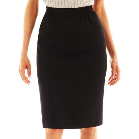 Alfred Dunner Skirt, 10 , Black