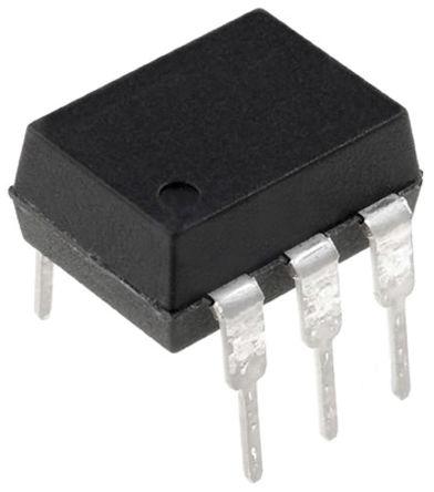 Isocom , H11AA3X AC Input Phototransistor Output Optocoupler, Surface Mount, 6-Pin DIP (65)