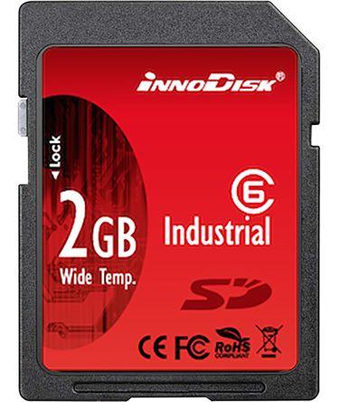 InnoDisk 2 GB Industrial SD SD Card