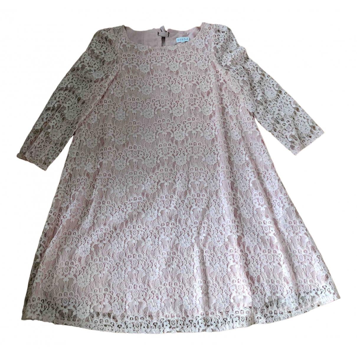 Claudie Pierlot \N Kleid in  Rosa Spitze