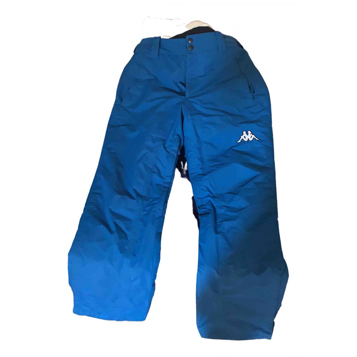 Kappa \N Blue Trousers for Men M International