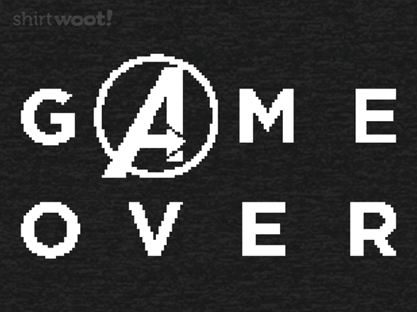 Final Game Over T Shirt