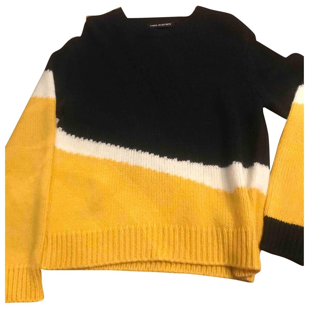 Neil Barrett \N Pullover.Westen.Sweatshirts  in  Bunt Wolle