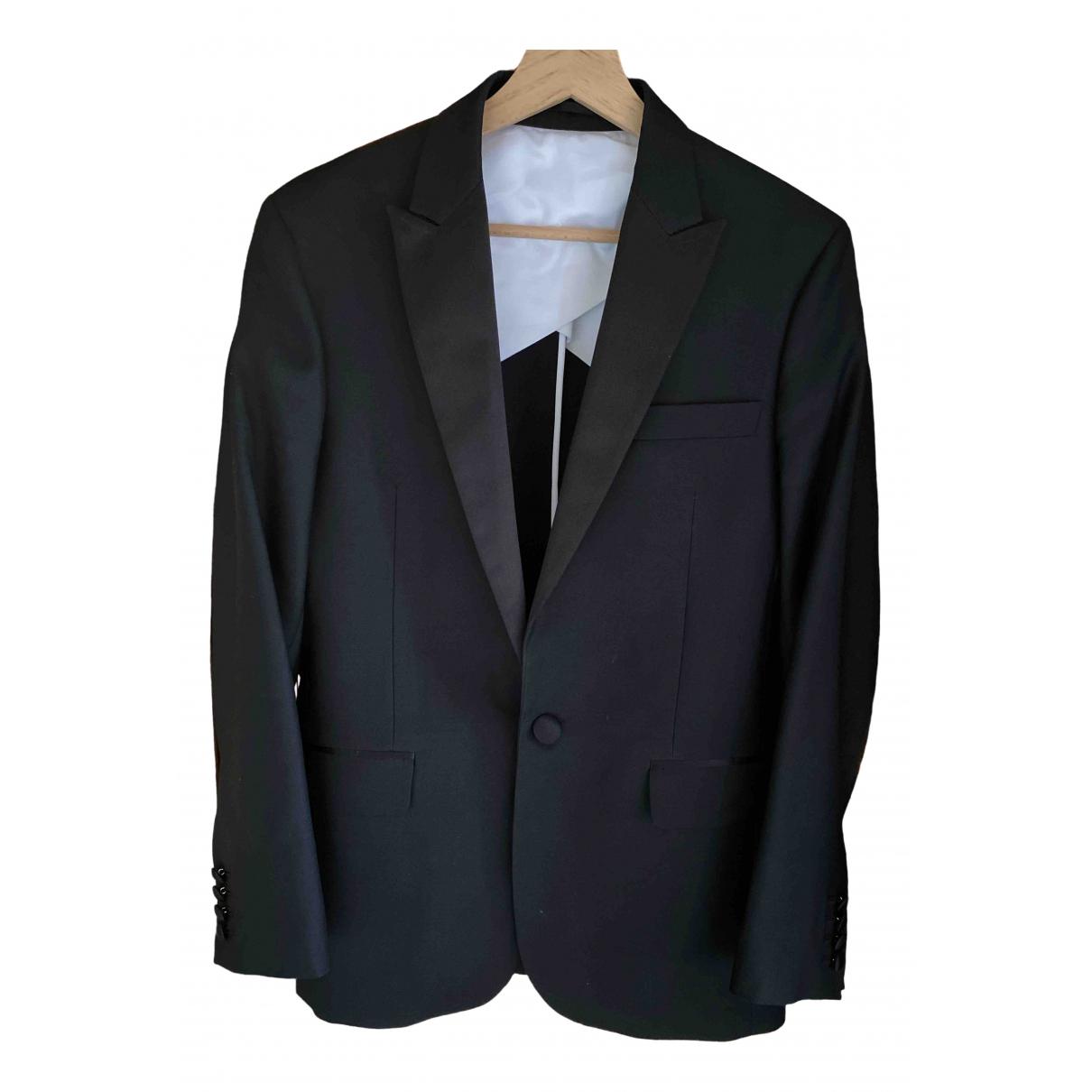 Dsquared2 - Costumes   pour homme en soie - noir