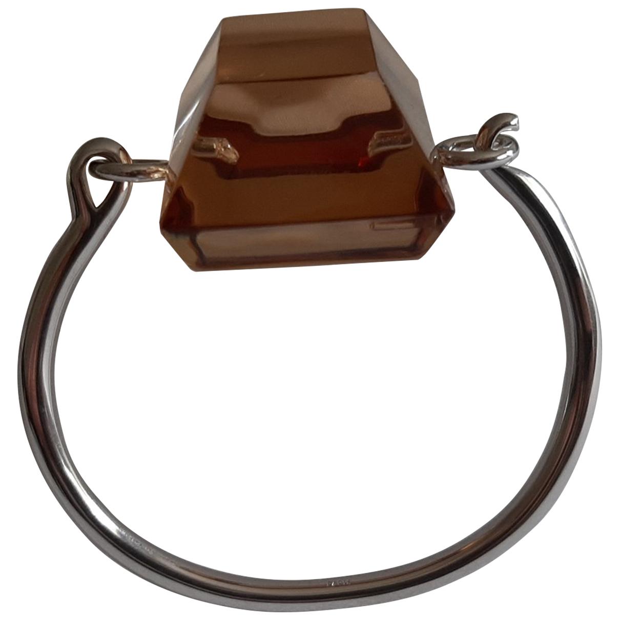 Celine - Bracelet   pour femme en metal - argente