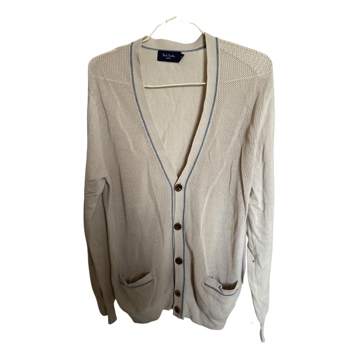 Paul Smith \N Pullover.Westen.Sweatshirts  in  Beige Baumwolle