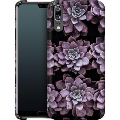 Huawei P20 Smartphone Huelle - Purple Succulents von caseable Designs