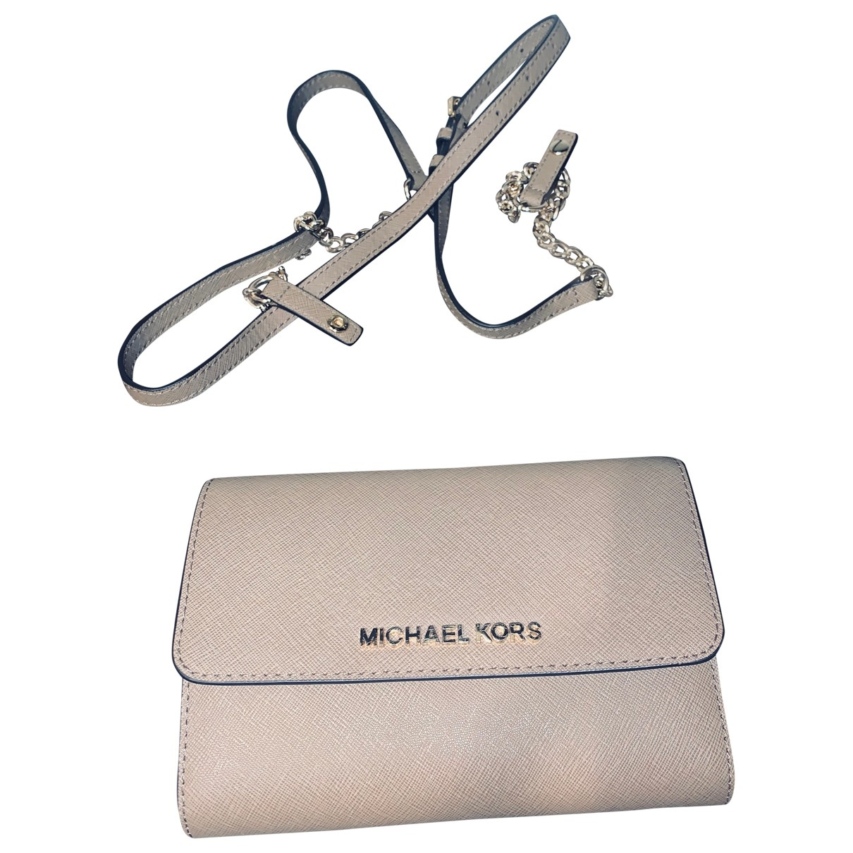 Michael Kors \N Beige Leather handbag for Women \N
