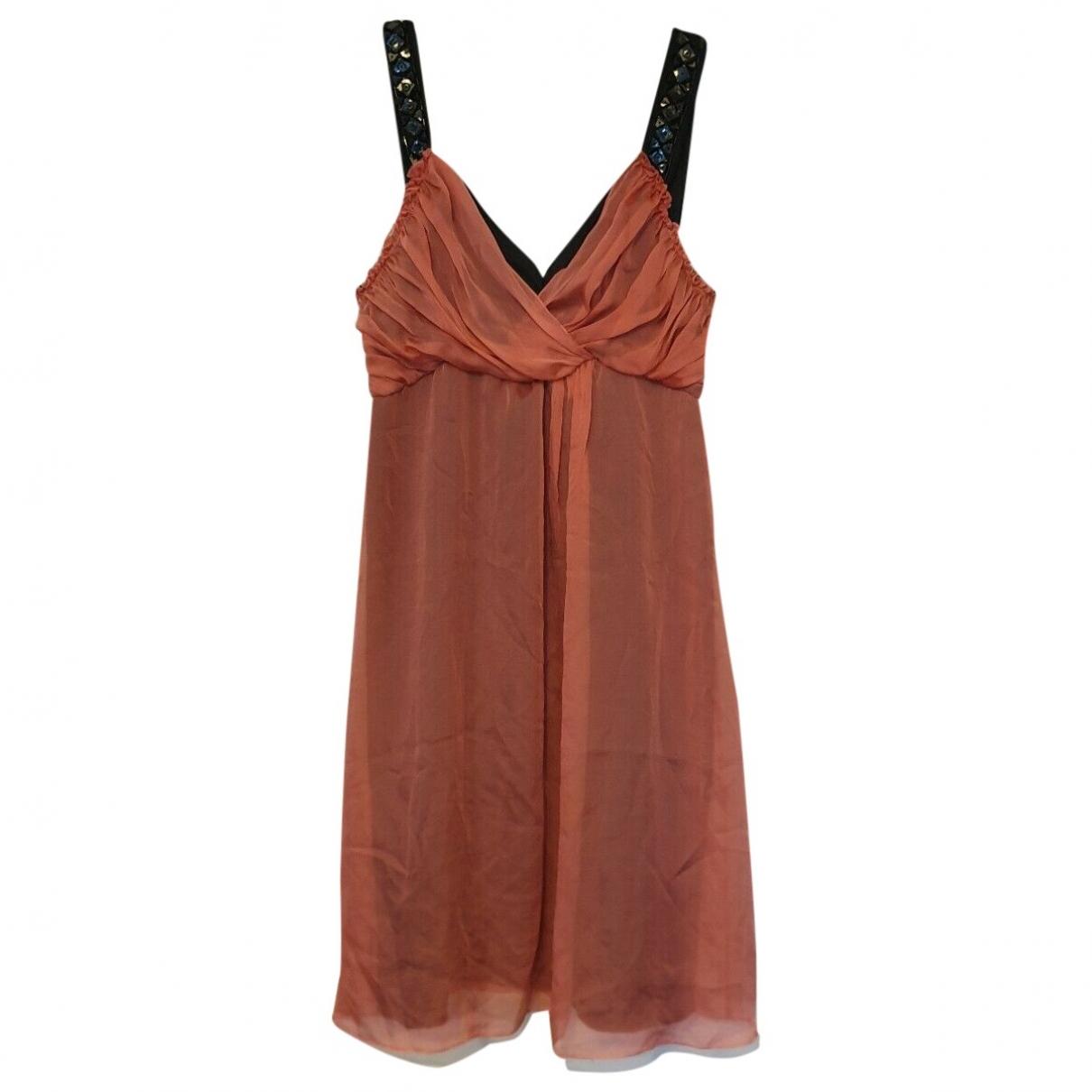 Philosophy Di Alberta Ferretti \N Pink Silk dress for Women 44 IT