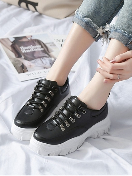 Yoins Thick Soled Daddy Sneakers