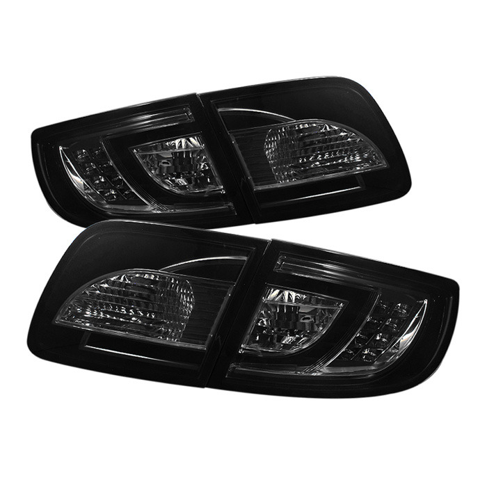 Spyder Auto ALT-YD-M303-LED-SM Smoke LED Taillights Mazda 3 4Dr Sedan 04-08