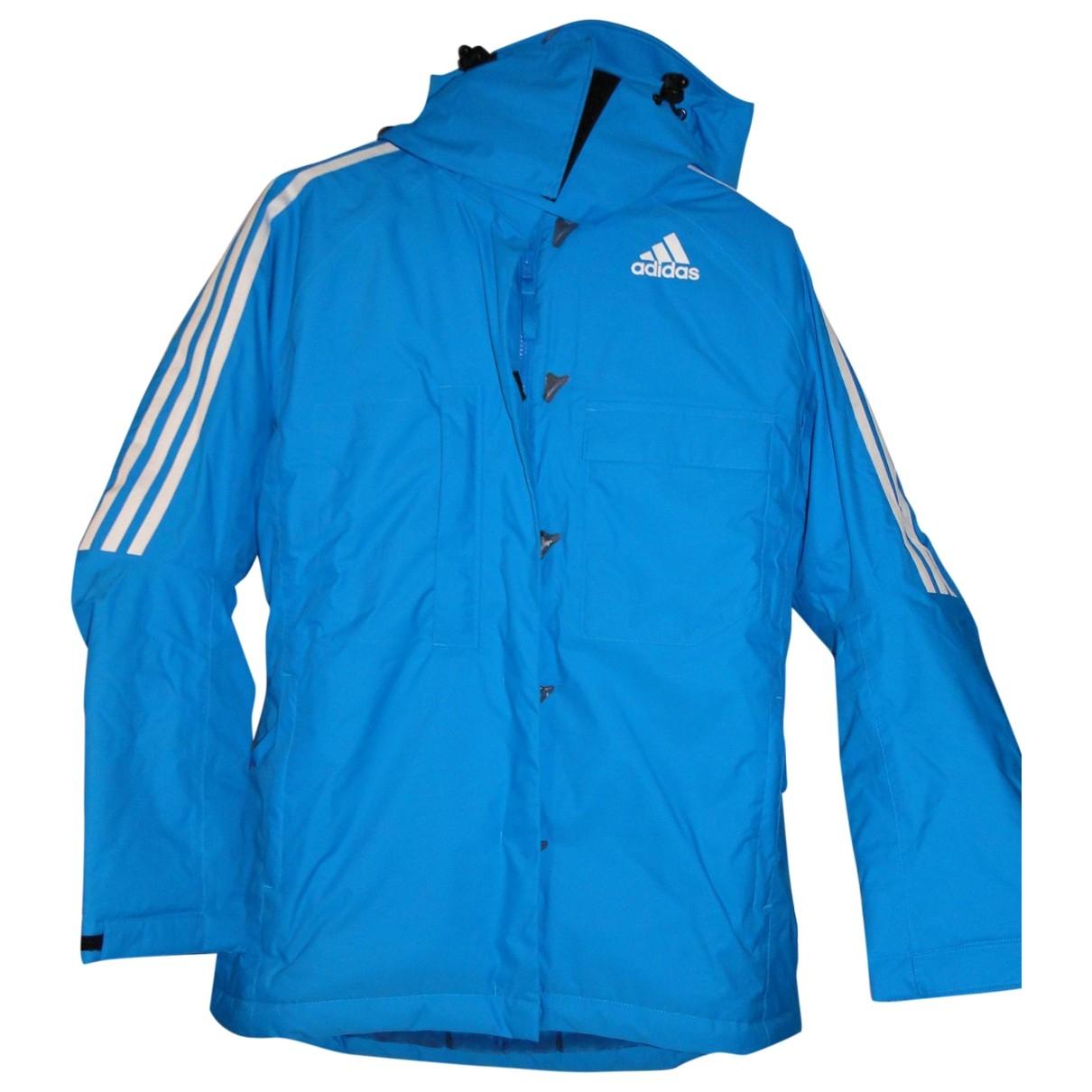Adidas \N Blue coat for Women 40 FR