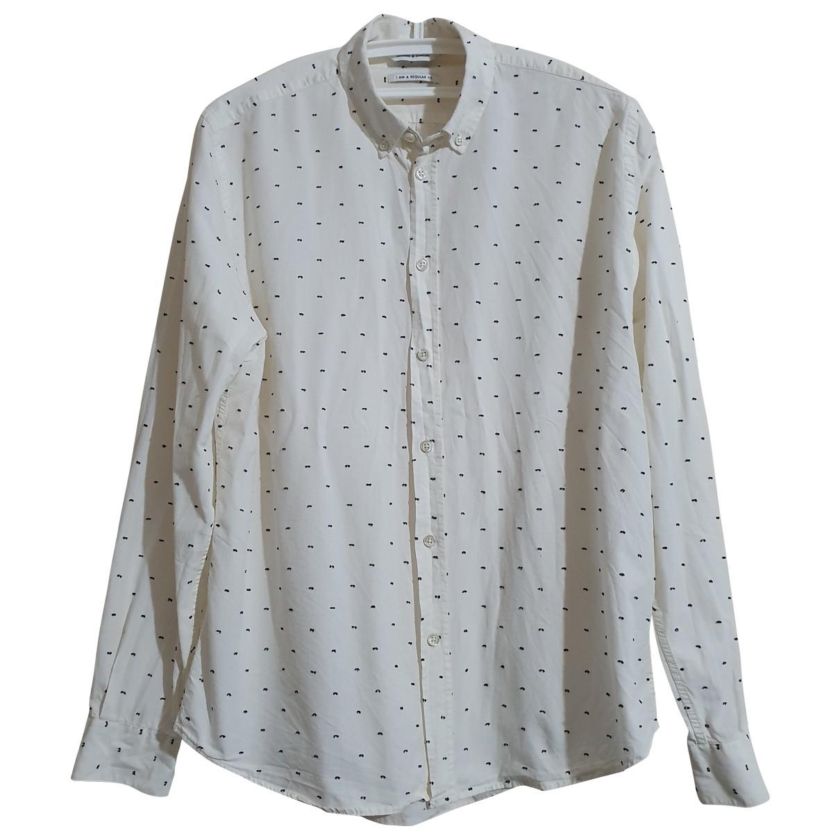 Samsoe & Samsoe \N Hemden in  Weiss Baumwolle
