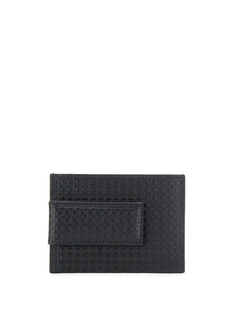 Mini Gancio Leather Card Holder