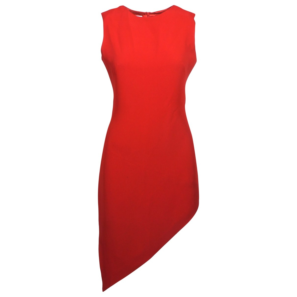 Moschino Cheap And Chic \N Kleid in  Rot Seide