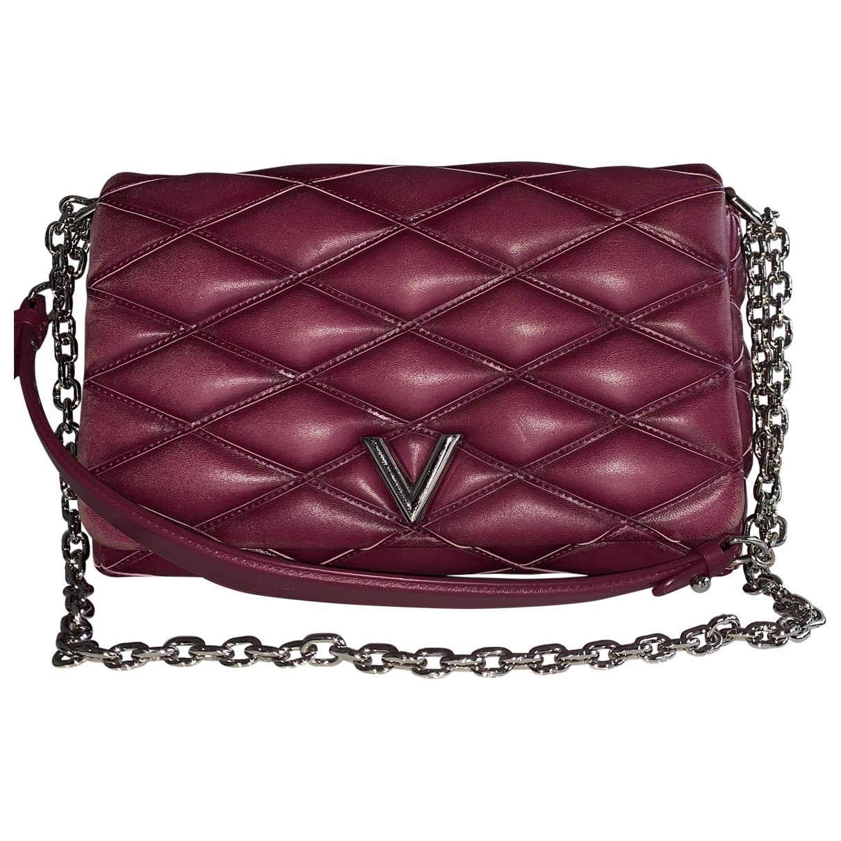 Louis Vuitton GO 14 Handtasche in  Rosa Leder