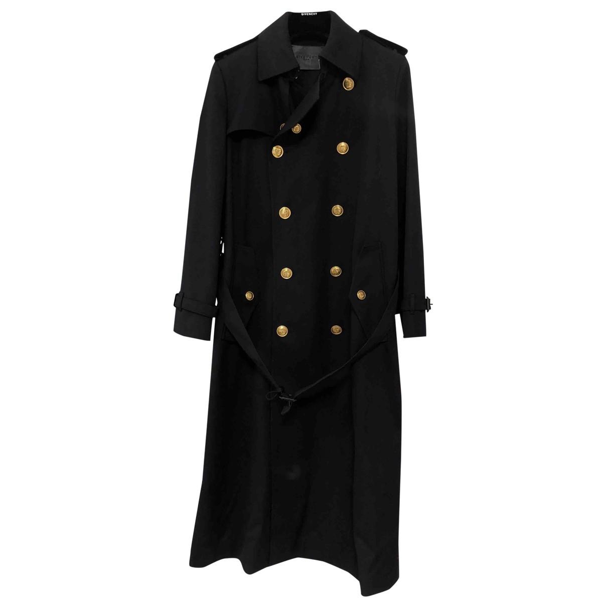 Givenchy - Manteau   pour homme en coton - marine