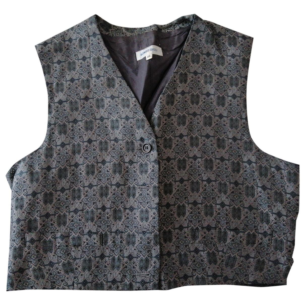 Romeo Gigli \N Multicolour Silk Knitwear for Women 46 IT