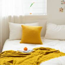 Plain Knitted Cushion Cover Without Filler