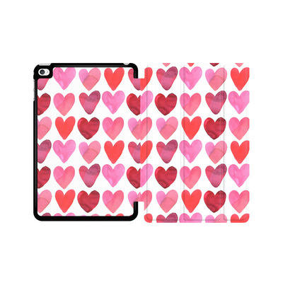 Apple iPad mini 4 Tablet Smart Case - Heart Watercolour von Amy Sia