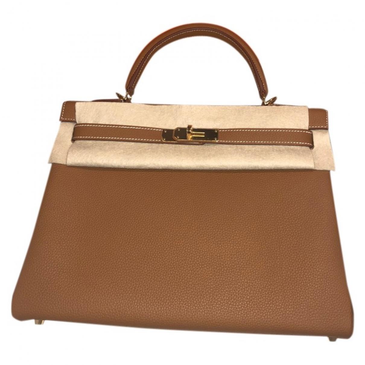 Hermès Kelly 32 Leather handbag for Women \N