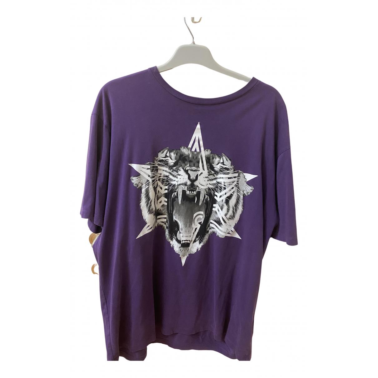 Marcelo Burlon \N T-Shirts in  Lila Baumwolle