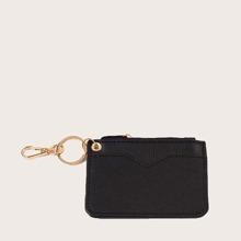 Monedero minimalista con bolsillo