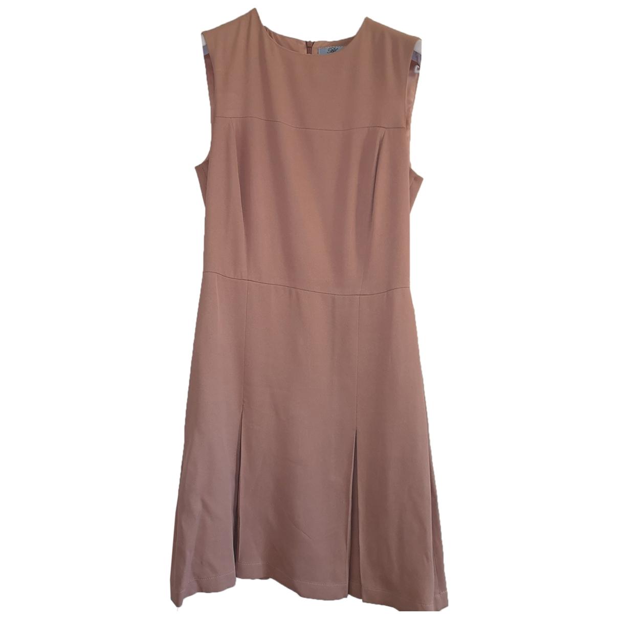Blumarine \N Kleid in  Rosa Viskose