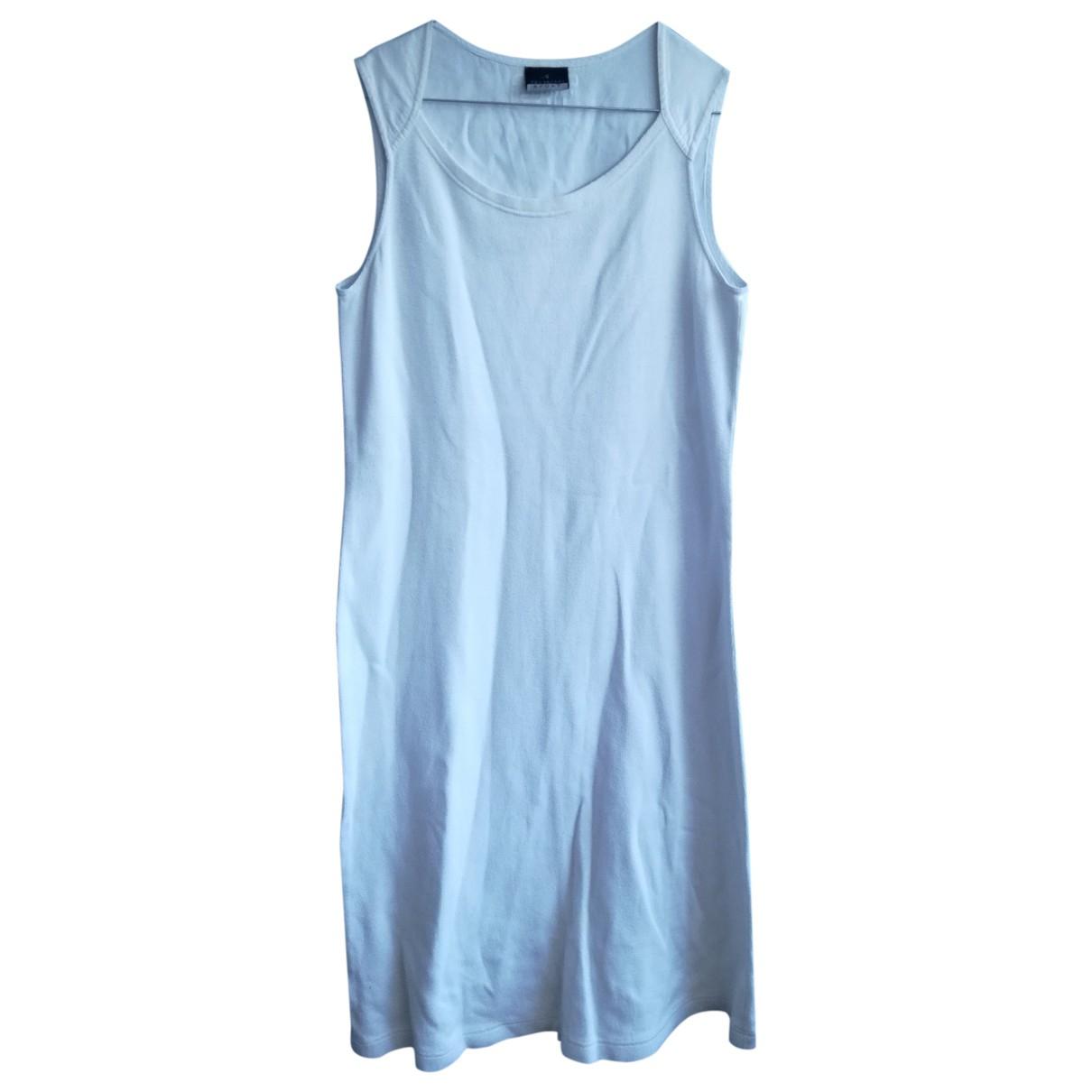 Trussardi Jeans \N White Cotton dress for Women 44 IT