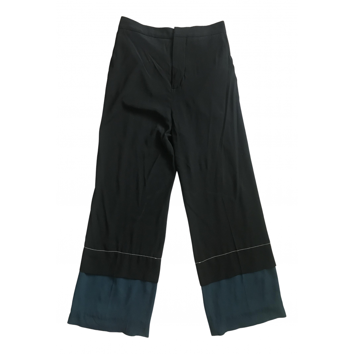 Pantalon de traje de Seda Marni