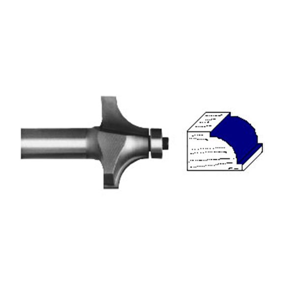 2100A Beading Router Bit 1/4
