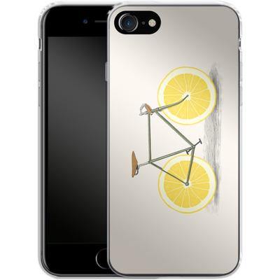 Apple iPhone 7 Silikon Handyhuelle - Zest von Florent Bodart