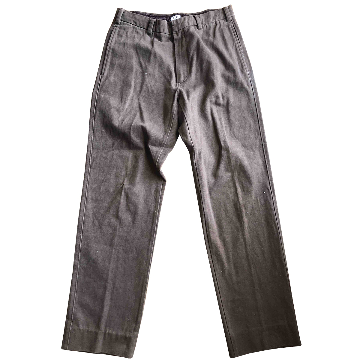 Cp Company \N Brown Cotton Jeans for Men 34 US
