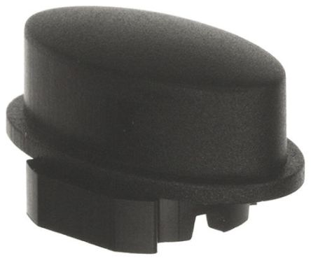 MEC Black Push Button Cap, for use with 3F Series Push Button Switch, Cap (5)