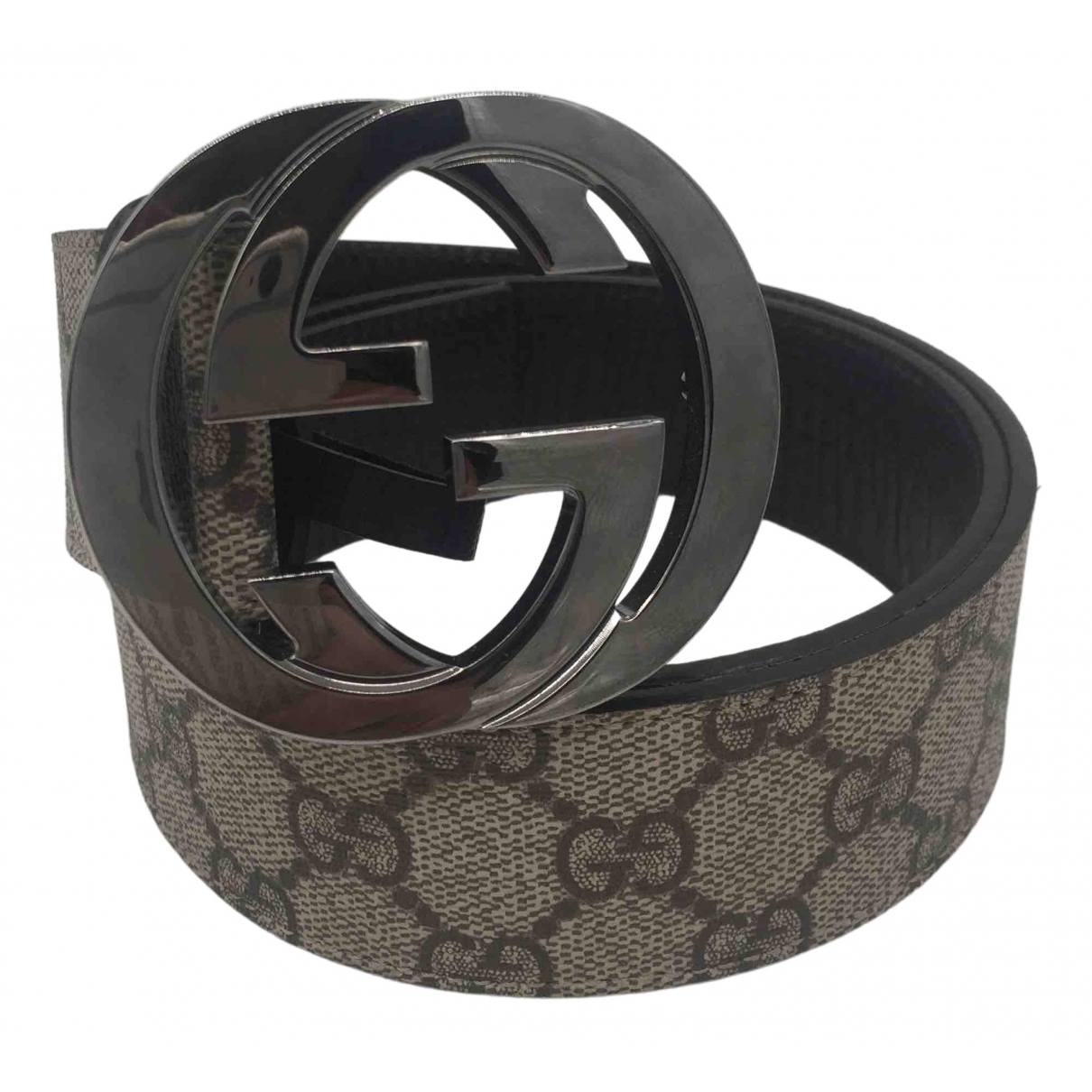 Gucci \N Leather belt for Women 80 cm