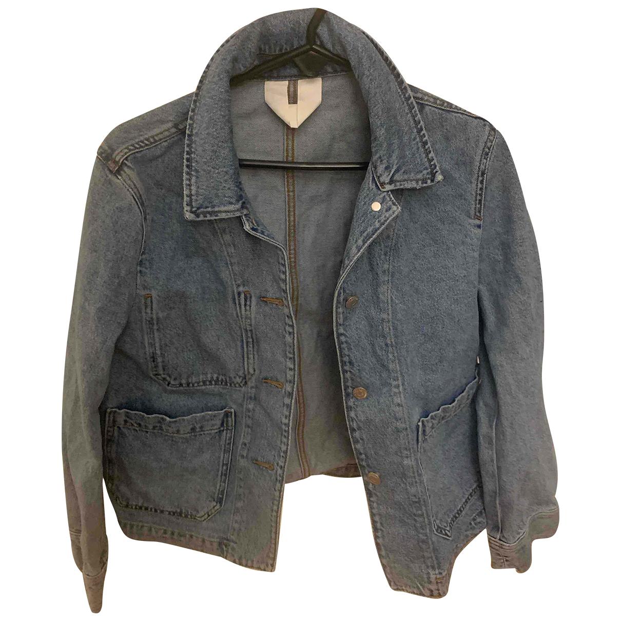 Arket N Blue Denim - Jeans jacket for Women 36 FR