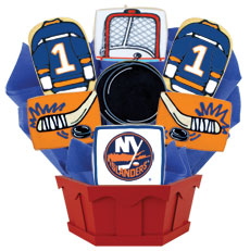 NHL New York Islanders Cookie Bouquet