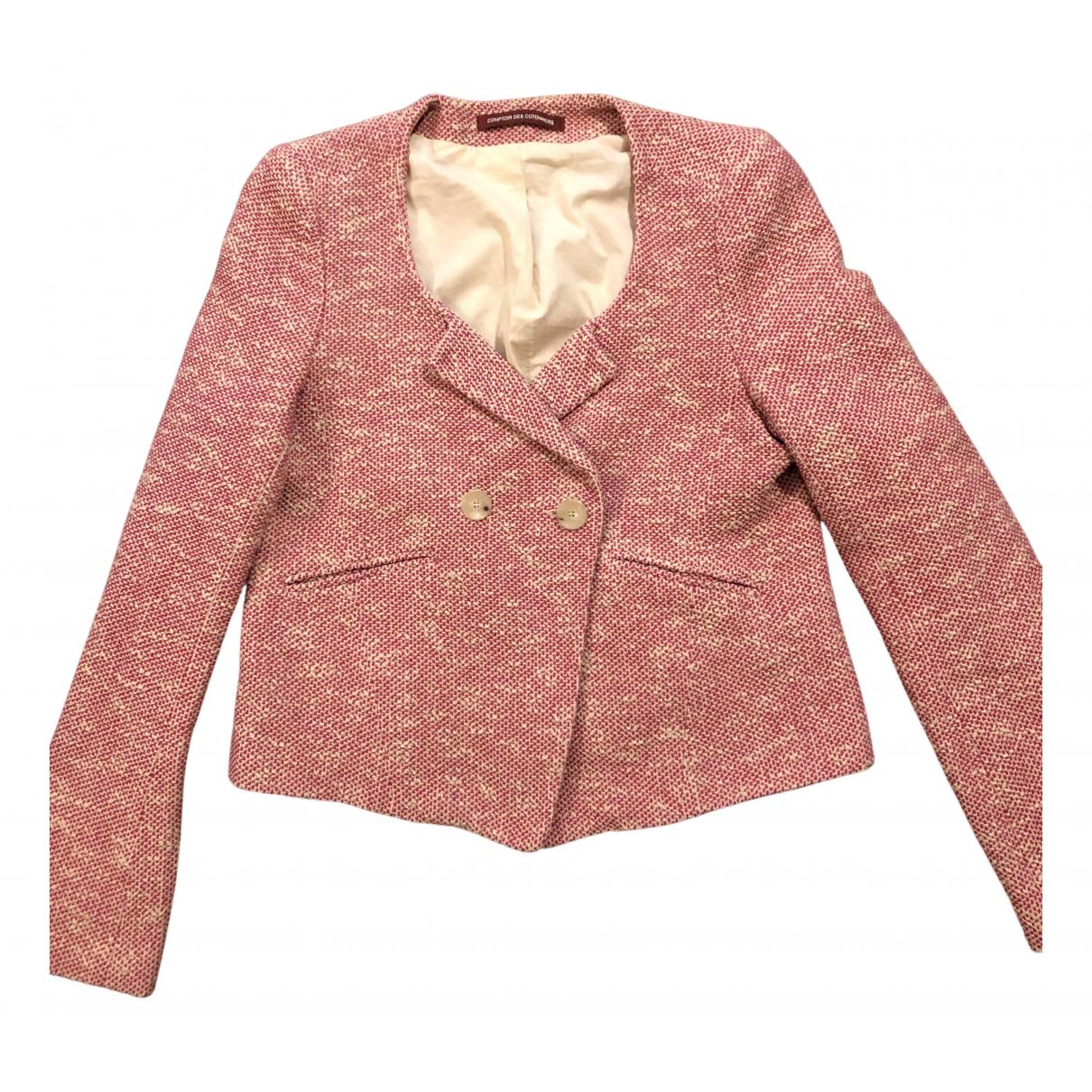 Comptoir Des Cotonniers N Pink Cotton jacket for Women 38 FR