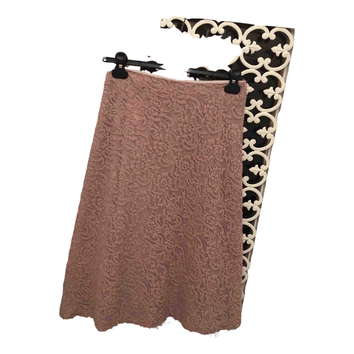 Luisa Beccaria \N Pink skirt for Women 40 IT