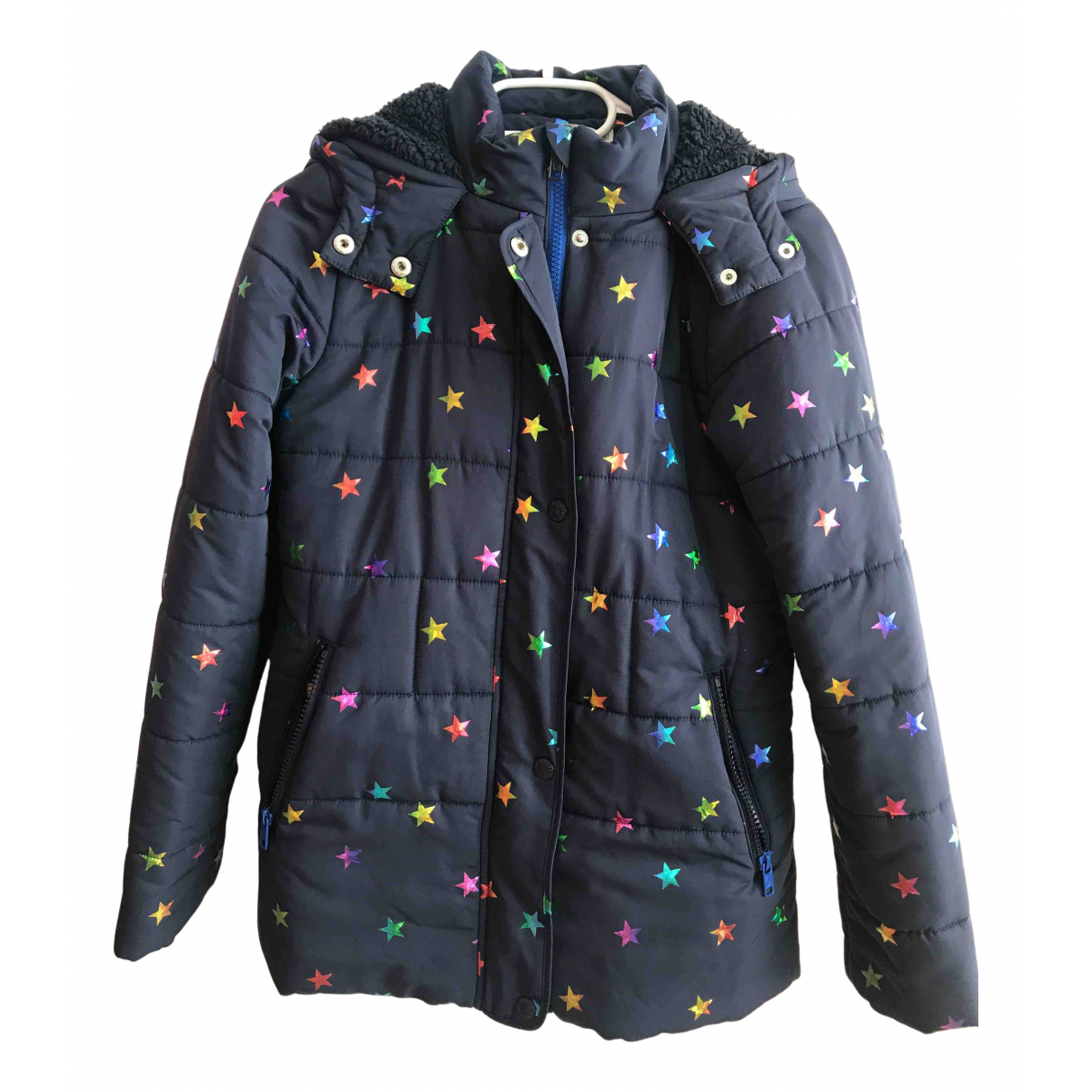 Stella Mccartney Kids \N Jacke, Maentel in  Blau Polyester