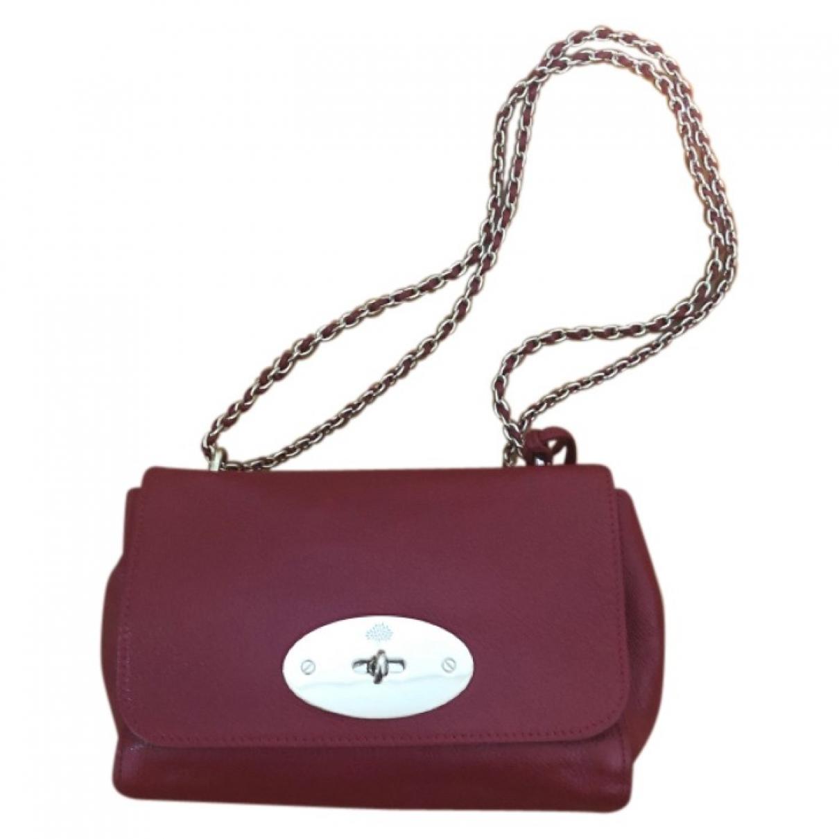 Mulberry - Sac a main Lily pour femme en cuir - rouge