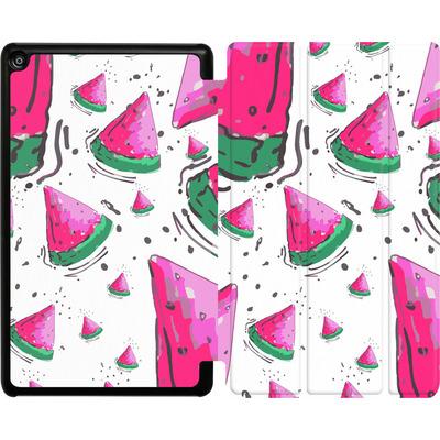 Amazon Fire HD 8 (2017) Tablet Smart Case - Watermelon Crush von Mukta Lata Barua