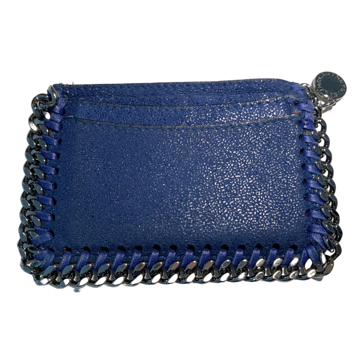 Stella Mccartney \N Portemonnaie in  Blau Leinen