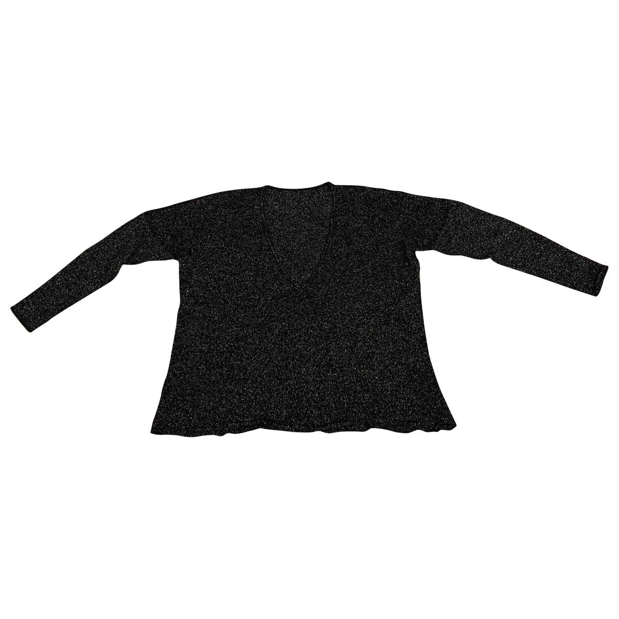 - Pull   pour femme en laine - metallise